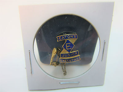 Rare Eaton's Canada Department Store Junior Executive Pin & Key 1962 - 63  MINT