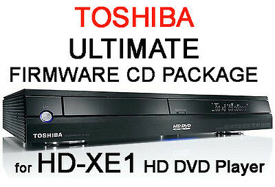 Region Free & V4.0 Firmware Cd Pack For Toshiba Hd-Xe1 Hd Dvd Player