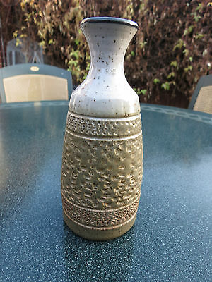 1 Purbeck Stoneware Pottery Poole Bud Flower Vase