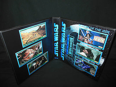Custom Made Star Wars Return Of The Jedi Widevision Binder Graphics Only