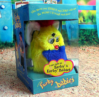 FURBY BABY ORIGINAL Collectable BRAND NEW BOXED SEALED NEVER OPENED