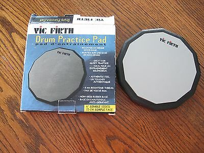 "Vic Firth 6"" Single Sided Drum Practice Pad Pad6"