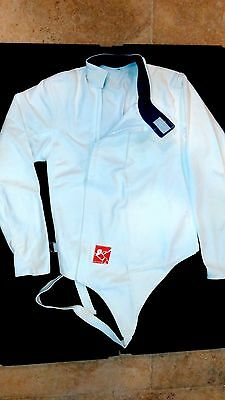 Blade Front Zipper Left Handed Cotton Jacket with Nylon Panels Size 34