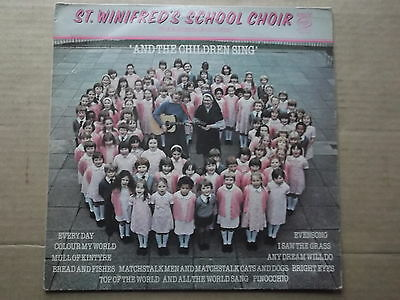 St Winifred's School Choir - And The Children Sing Lp