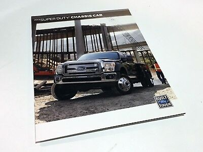 2013 Ford Super Duty Chassis Cab XL XLT Lariat Brochure