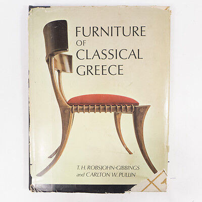 Vintage 1963 Furniture of Classical Green Collection Hardcover Book