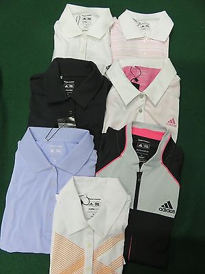TOUR ISSUE * Womens Adidas PAULA CREAMER Golf Polo Shirt, Medium
