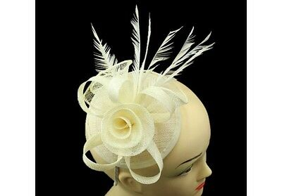 Elegant Headband Fascinator Hat Aliceband Wedding/Race Royal Ascot/Ladies Day