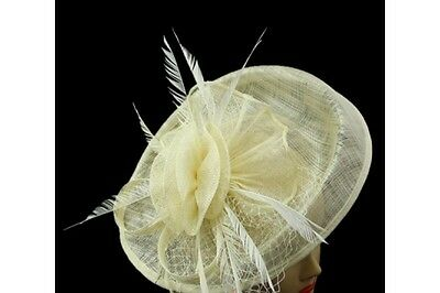 Elegant  Headband Fascinator Hat Aliceband/Wedding Ladies Day Race Royal Ascot
