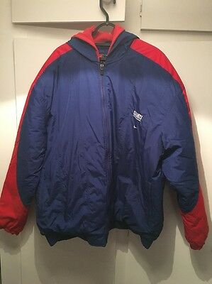 *XXL* New York Giants Nike NFL 1990s Puffer Hooded Jacket