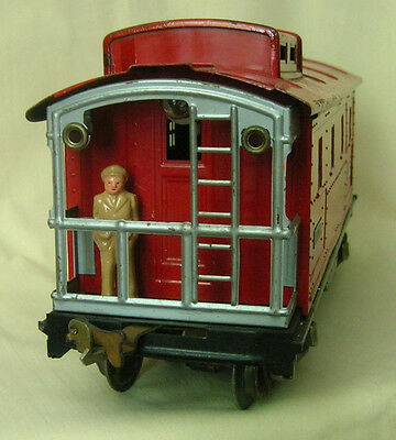 Traveling Boy in Suit, Reproduction w/magnetic base for pre-war Standard Gauge