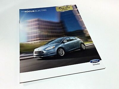 2013 Ford Focus Electric Brochure