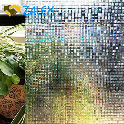 Decoration Static Cling Window Film Decorative Home Decor Privacy Glass 90 x 200
