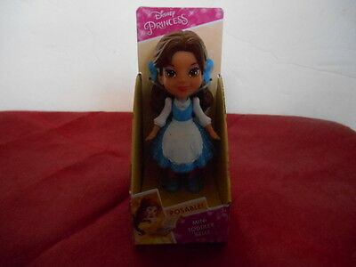 * New Collectible DISNEY Princess Collection Poseable Mini Toddler Belle Blue