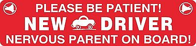 Student Teen New Driver Magnet Vehicle Car Caution Safety Magnetic Signs #18
