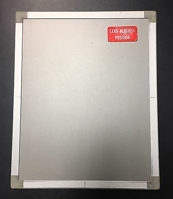 "Konica and Optex & Rarex (Econosette) X-Ray Intensifying Screen 8""x10"" Cassette"