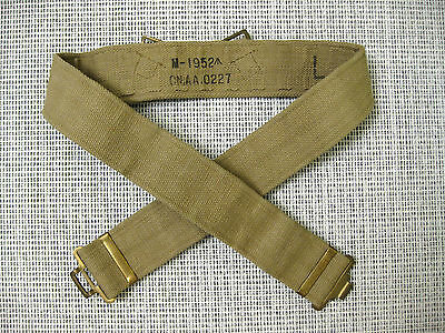British Army Ww2 P37 Pistol Belt Khaki Mint 1952