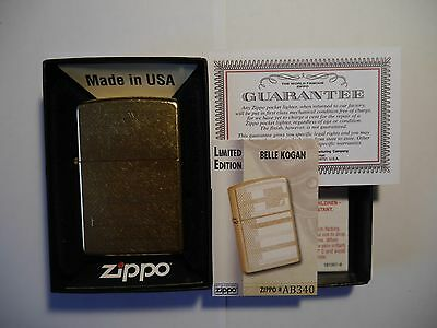 Zippo Belle Kogan - Rare Limited Edition For Portugal