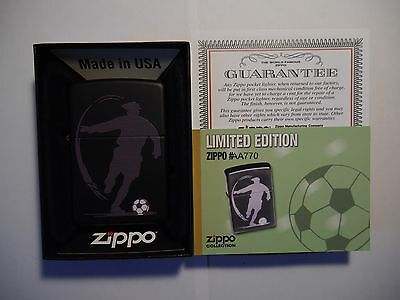 Zippo Football - Rare Limited Edition For Portugal