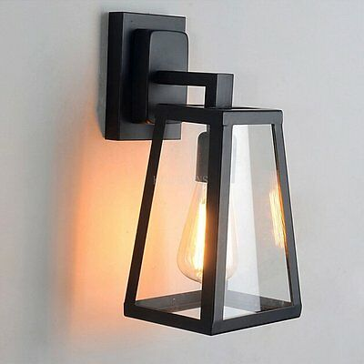 Industrial Retro Iron Frame Wall Light Aisle/ Bar lamp Creative Wall Sconce Lamp