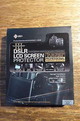 GGS III Pro LCD Guard Glass Screen Protector for Canon Mark 5DII 5D2