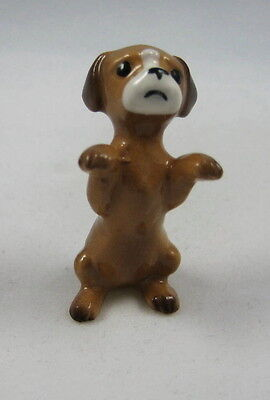 Hagen Renaker miniature made in America Puppy Begging