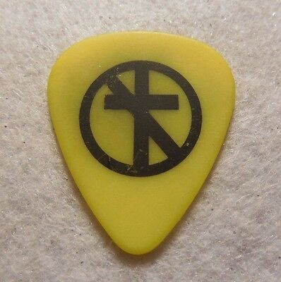 GUITAR PICK  C.C. DeMilf - Bad Religion Tour Issue guitar pick  Stage Used pick