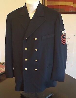 Spanish American War US Navy Chief Petty Officer Uniform Jacket CPO Pre WWI
