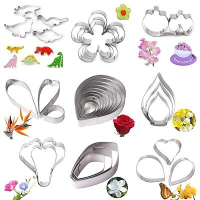 Flower Stainless Steel Biscuit Pastry Cookie Cutter Cake Decor Mold Mould Tool