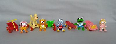Muppet Babies - Happy Meal Toys from 1986 - Set of 5 - Includes Animal