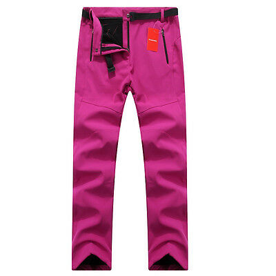 Women Gore-Tex Warm Fleece Fishing Camping Hiking Skiing Trousers Windproof