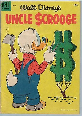 Uncle Scrooge 9 May 1955 GD-VG (3.0)