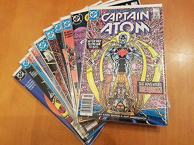 Captain Atom 1-10 lot (1 2 3 4 5 6 7 8 9 10) VF/NM