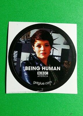 "Being Human Kate Bracken Alex Bbc Photo Tv Small 1.5"" Getglue Get Glue Sticker"