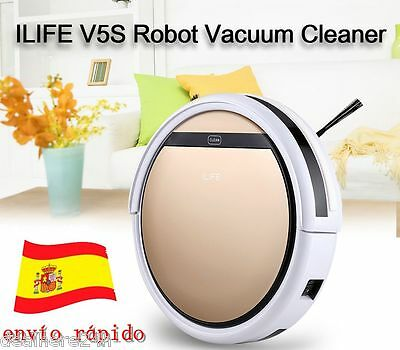 ILIFE V5S Smart Auto Cleaning Robot Vacuum Cleaner Automatic Con tanque de agua