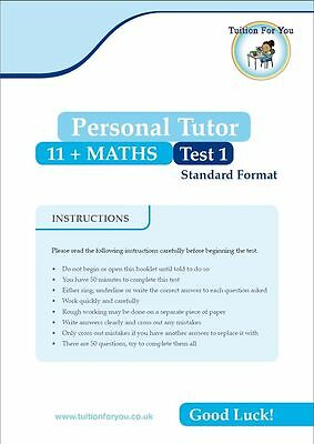 10x MATHS 11+ ELEVEN PLUS TEST/EXAM PAPERS IDEAL FOR CEM / GL ASSESSMENT / BOND