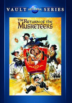 THE RETURN OF THE MUSKETEERS (Michael York) - DVD - Region Free - Sealed