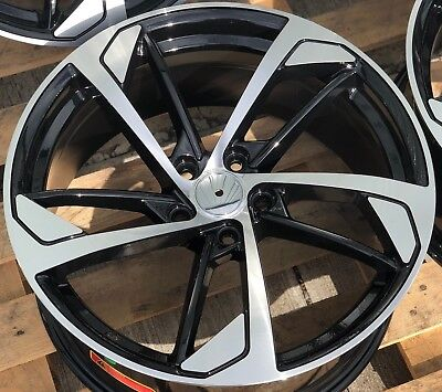 "18"" Ford Transit St Alloy Wheels Load Rated 5X160 Load Rated Hyper Silver"