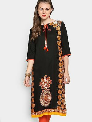Indian Bollywood Designer Women Ethnic DressTop Tunic new Stylish Rayon Kurti