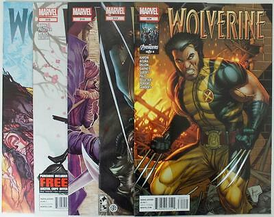 5 issues Wolverine - Issue #304,313,314,315,317 (Volume 4) - 2012 - NM/VF (2727