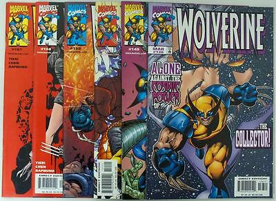 6 issues Wolverine - Issue 136,149,151,159,160,161 - Marvel - NM/VF (2758)