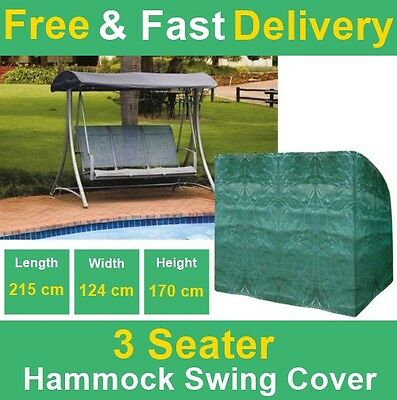 Durable Waterproof 3 Seater Hammock Seat Cover For Large Garden Roof Swing Chair