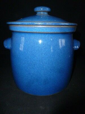 Denby Stoneware - Imperial Blue -  Very Large Stock Pot