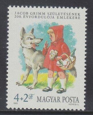 Hungary 1985 - Jacob Grimm - Cappuccetto Rosso - Ft. 4 - Mnh