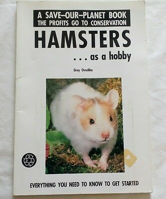 Hampster care book