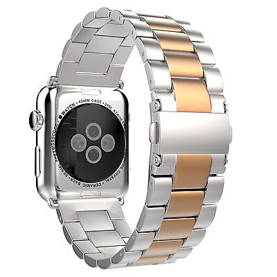 OO11 Amytech Replacement Stainless Steel Bracelet Metal für Apple smartwatch