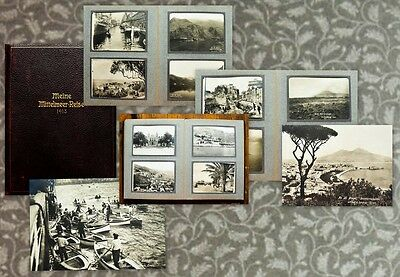 c1913 Mittelmeer Mediterranean Photo Album Lehnert & Landrock Album 37 Photos