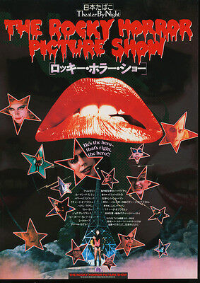 THE ROCKY HORROR PICTURE SHOW(1990sR) Japanese Movie Chirashi flyer(mini poster)