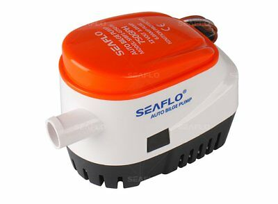 Automatic 750gph 12V Submersible Boat Bilge Water Pump Auto with Float Switch-SF