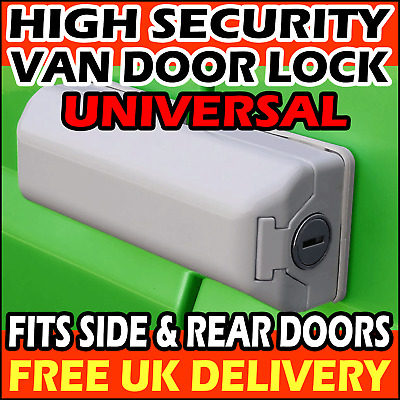 Vauxhall Combo Milenco Rear or Side Door High Security External Van Lock Single